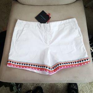 Cynthia Rowley Shorts. size 8. N WT